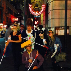 New Orleans on Halloween with my coworkers was a blast.
