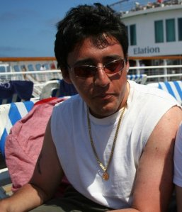 "Clearly ""Elation"" in the background depicts my mood from that cruise back in 2008. I had fun on that cruise, but in reality I didn't have many real life stresses at 22 years old, so a vacation this time around was much more needed."